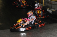 C.J. Leary is followed by Spencer Bayston in last year's USAC Benevolent Fund Karting event.