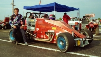 1990 USAC Silver Crown champion Jimmy Sills.