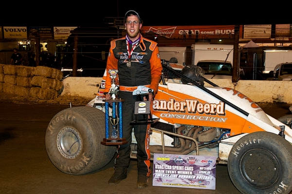 Richard Vander Weerd wins at Perris.