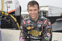 Bryan Clauson is back atop the standings.