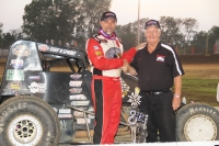 Dave Darland surpassed Tom Bigelow on the all-time USAC Sprint Car win list Sunday night.