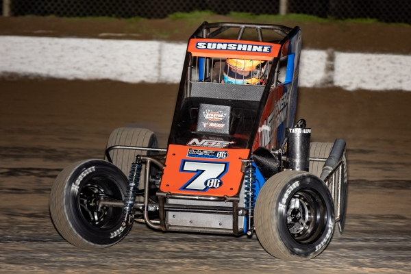 "2018 ""Kokomo Grand Prix"" winner Tyler Courtney will return to defend his title this Friday and Saturday, April 5-6 at Indiana's Kokomo Speedway."