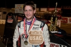 JUSTIN GRANT WINS USAC/CRA SPRINT CAR BATTLE AT PERRIS