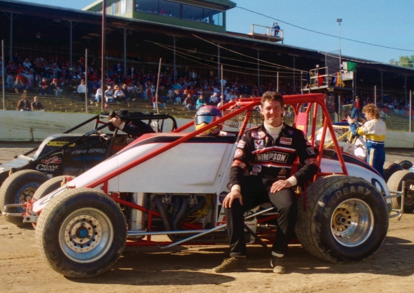 1993 USAC National Sprint Car champion Robbie Stanley of Brownsburg, Indiana