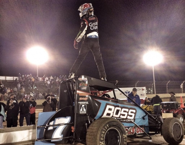 HAGEN OPENS MIDGET SEASON WITH