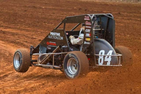BOAT SINKS PA MIDGET WEEK VICTORY NO. 2 IN LINDA'S USAC DEBUT