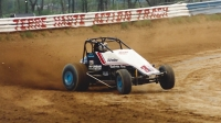 "Two-time ""Tony Hulman Classic"" winner Dave Darland at the Terre Haute Action Track in 1993.."
