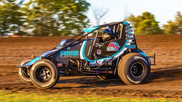 Indiana Sprint Week point leader C.J. Leary (Greenfield, Ind.)