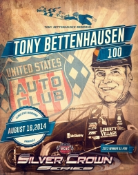 "FIKE SEEKS 3RD STRAIGHT ""TONY BETTENHAUSEN 100"" SATURDAY"