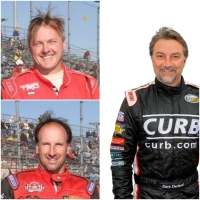 Clockwise (L to R) Brian Tyler (191 starts), Dave Darland (189) and Russ Gamester (190) have the most starts in the history of the USAC Silver Crown Champ Car Series presented by TRAXXAS.