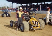 1983 USAC National Sprint Car champion Ken Schrader of Fenton, Missouri