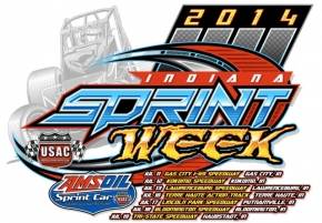 INDIANA SPRINT WEEK OPENS AT GAS CITY, KOKOMO, LAWRENCEBURG