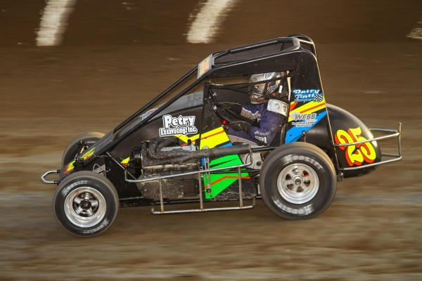 "Jerry Coons, Jr. will run the Petry/Goff Motorsports #25 for the three night ""Gold Crown Midget Nationals"" at Tri-City Speedway on Oct. 6-7-8, 2016."