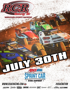 MOBERLY USAC AMSOIL NATIONAL SPRINT RESULTS: July 30, 2017