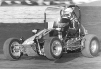 Sleepy Tripp in the Zarounian No. 67 at California's Ascot Park on April 28, 1985.