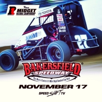 BAKERSFIELD USAC MIDGETS LIVE SATURDAY ON SPEED SHIFT TV
