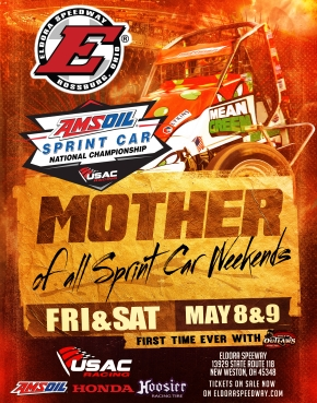 "HISTORIC USAC/WoO ""DOUBLEHEADERS"" FRIDAY, SATURDAY AT ELDORA"