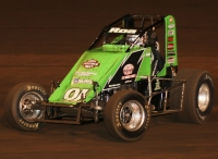2016 USAC West Coast Sprint Car champion Brody Roa.