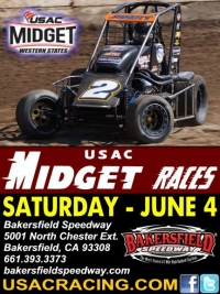GARDNER GOES FOR #4 AT BAKERSFIELD SATURDAY