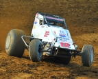 Robert Ballou has won a USAC AMSOIL National Sprint Car race the last two years at Lakeside Speedway.
