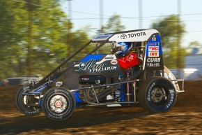 Ryan Robinson - 9th in USAC Midget National Championship points.