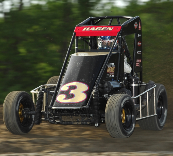 "Darren Hagen is the defending ""Indiana Midget Week"" Champion."