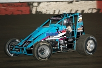 Danny Faria is the 2013 USAC West Coast Sprint Car Champion.