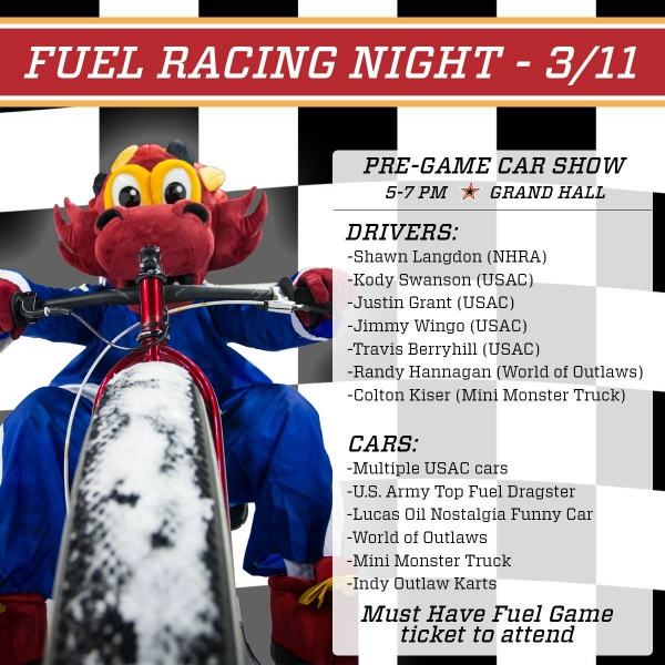 SWANSON AND GRANT SPECIAL GUESTS THIS SATURDAY AT INDY FUEL RACING NIGHT