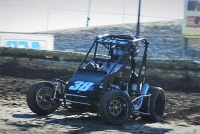 USAC Western HPD Midget dirt and overall point leader Jesse Love IV.