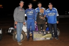 #17G Shane Golobic & Crew in Placerville victory circle.