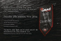 USAC NIGHT OF CHAMPIONS COMES TO DOWNTOWN INDY ON DECEMBER 9TH