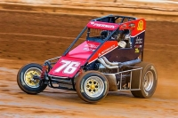 Vermont's Adam Pierson - 7th in USAC/ARDC Midget points.