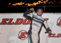GRANT DENIES LEARY IN MOTHER'S DAY THRILLER AT ELDORA