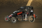"Chris Windom won Friday night's ""Kokomo Klash"" USAC Indiana Midget Championship feature at Kokomo Speedway."