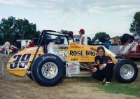1984 USAC National Sprint Car champion Rick Hood of Memphis, Tennessee