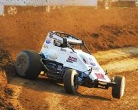 Rocklin, California's Robert Ballou has won two of the last three USAC AMSOIL National Sprint Car features at Lincoln Park Speedway in Putnamville, Indiana.