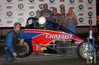 Nick Chivello won Saturday at Madera Speedway.