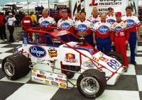 2002 USAC National Sprint Car champion Tracy Hines of New Castle, Indiana