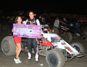 Austin Liggett wins at Santa Maria.