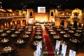 "The Indiana Roof Ballroom, scene of the USAC ""Night of Champions"" December 13."