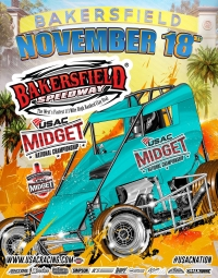 RACEDAY: USAC Midgets at Bakersfield - Nov. 18, 2017