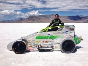 Damion Gardner at Bonneville