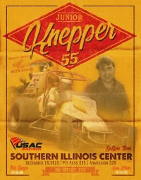 JUNIOR KNEPPER 55 USAC MIDGET SPECIAL EVENT AT DuQUOIN DEC. 19