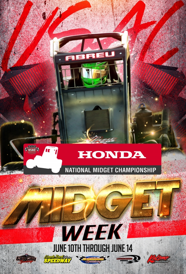 """INDIANA MIDGET WEEK"" BEGINS JUNE 10"