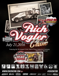 """RICH VOGLER/USAC HALL OF FAME CLASSIC"" ENTRY LIST"