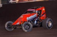 Chris Windom - the only driver to win at both Terre Haute and Haubstadt in USAC competition this season. The USAC AMSOIL National Sprint Cars visit Terre Haute this Friday and Haubstadt Saturday.