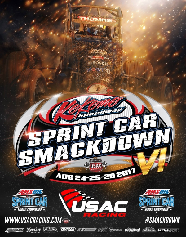 RACEDAY: Kokomo Sprint Car Smackdown Night #2 - Aug. 25, 2017