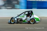 Friday night USAC Western HPD Midget feature winner at Madera, Annie Breidinger.,
