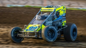 Last week, Chase Stockon (Fort Branch, Ind.) moved into 13th on the all-time fast qualifying times list in the USAC AMSOIL National Sprint Car division.