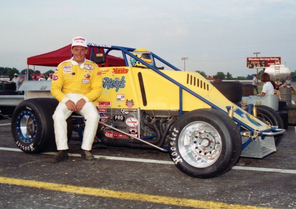 1991 USAC National Sprint Car champion Robbie Stanley of Brownsburg, Indiana